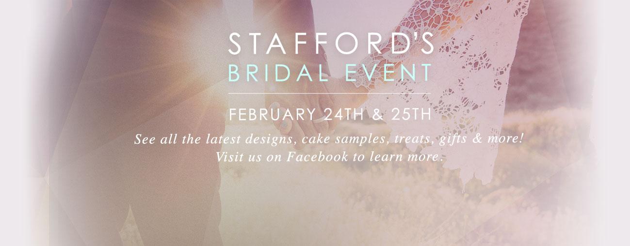 Stafford's Bridal Event